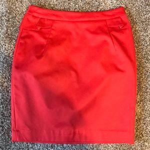 H&M Ruffle Detail High Waisted Mini Skirt